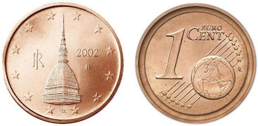 1 centesimo di euro raro