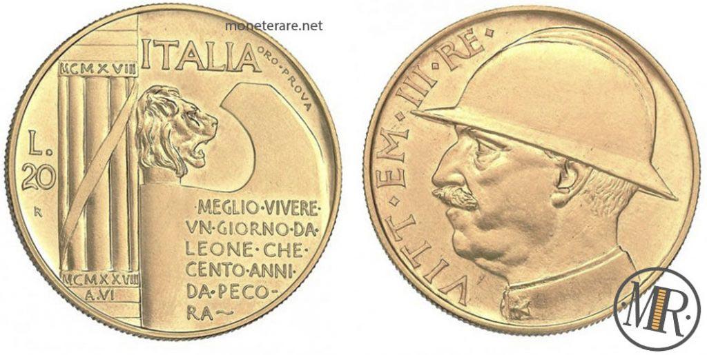 20 Lire Elmetto