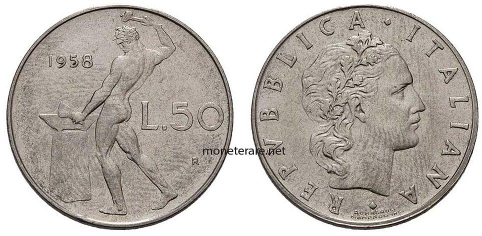 50 Lire Rare