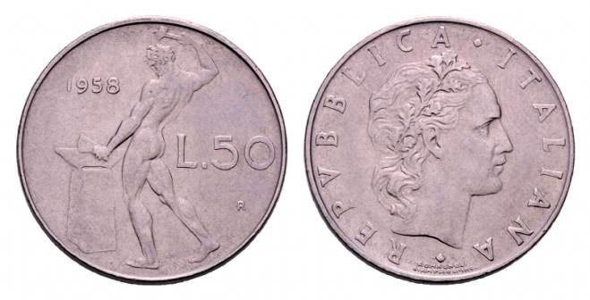 50 Lire Rare del 58