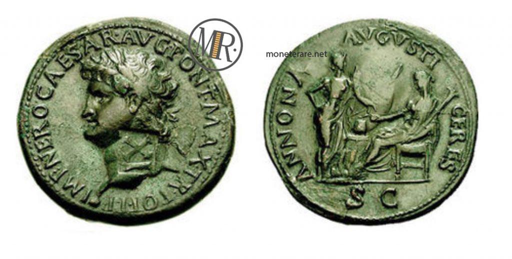Il Sesterzio di Nerone