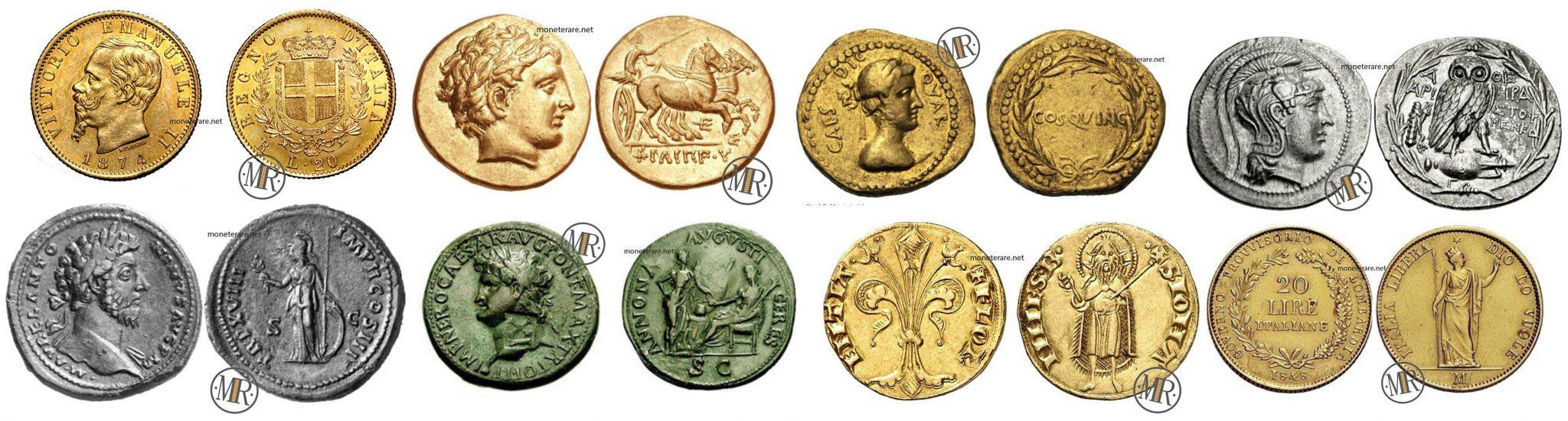 Monete Antiche, Rare e di Valore - Dalle Monete Romane a quelle Greche