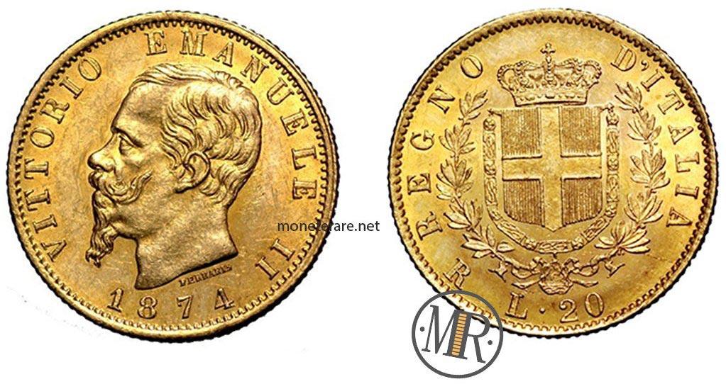 Marengo d'oro Vittorio Emanuele II