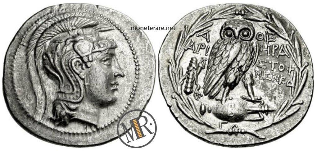Moneta Antica Greca Ateniese