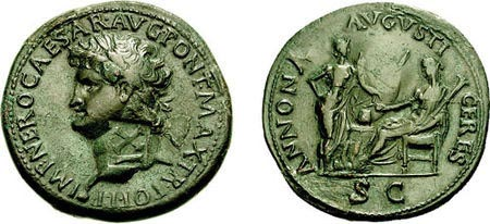 The Sestertius of Nero