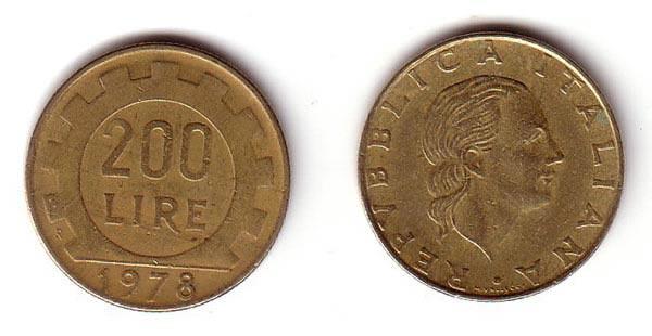 Monete Rare e storiche 200 lire