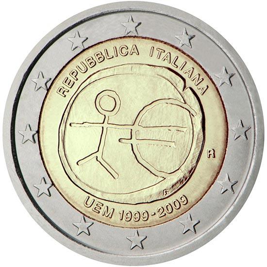 2 euro commemorativi Italiani