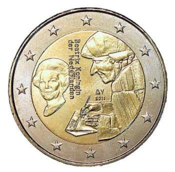 2 euro commemorative Netherlands 2011