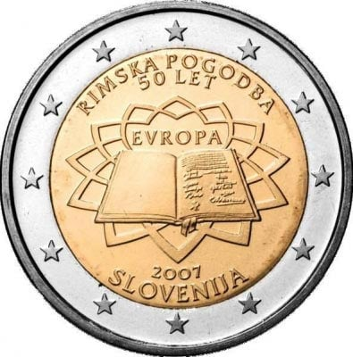 2 euro commemorative Slovenia 2007