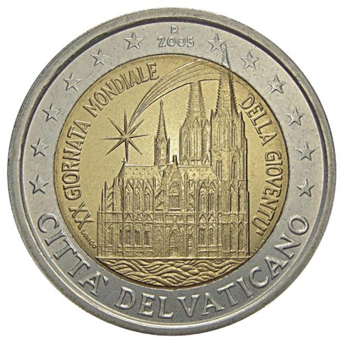 2 euro commemorative Vatican 2005