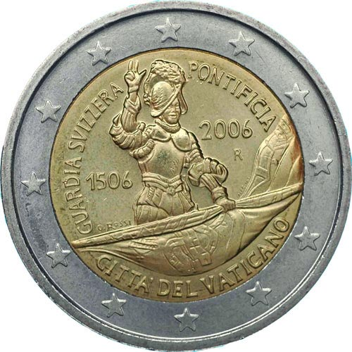 2 euro commemorative Vatican 2006