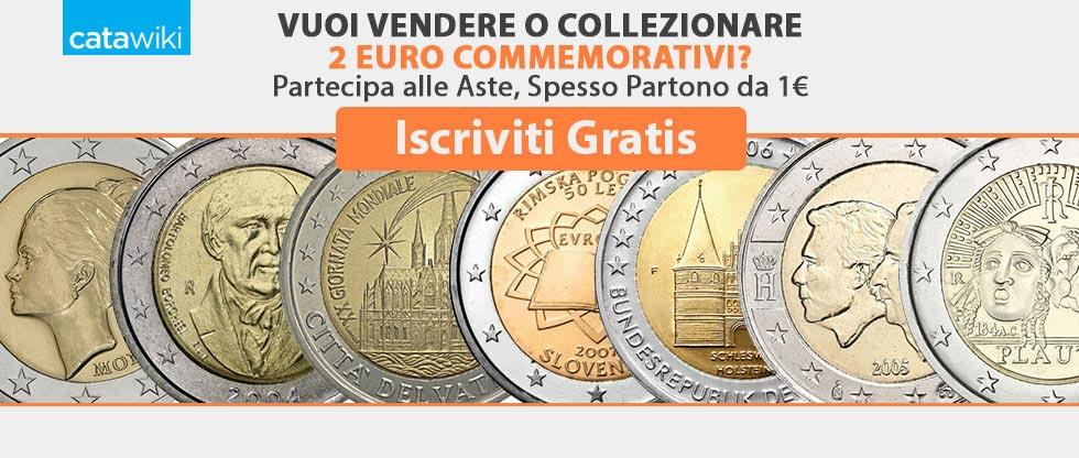 vendi compra o collezione i 2 euro commemorativi