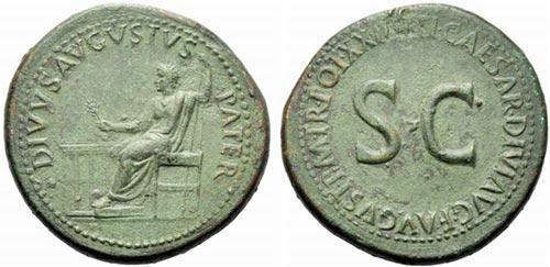 Sesterzio: Imperial Roman Coins