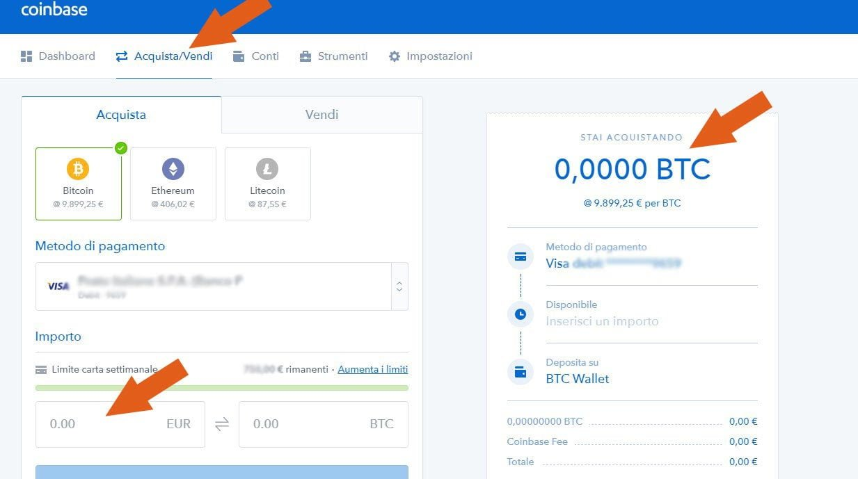 come-acquistare-bitcoin e criptovalute