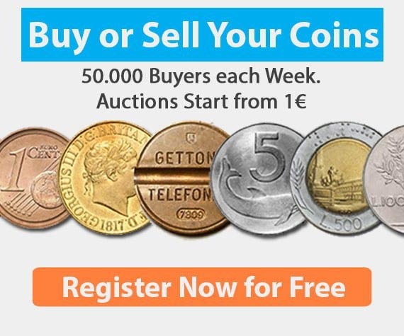 register now for free to coin aution website