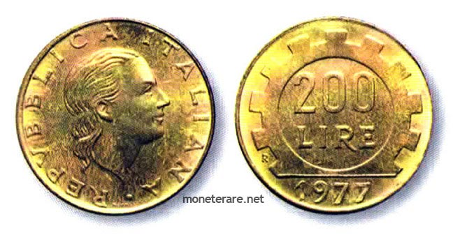 200 Lire Coins | Value of The Italian 200 Lira Coins