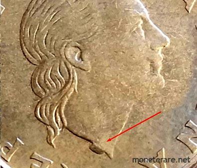 200 Lire Coins half moon