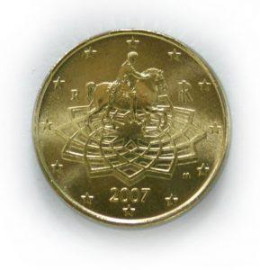 50 Centesimi Di Euro Anno 2007