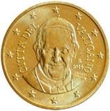 50 centesimi vaticano papa francesco
