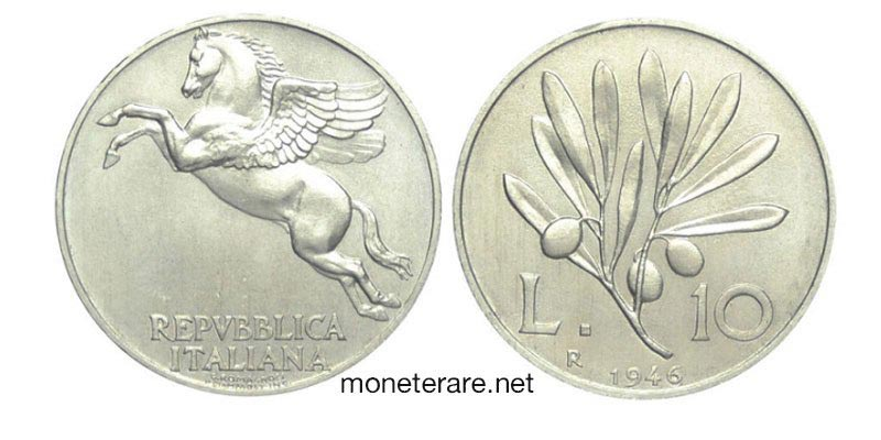 10 lire del 1946