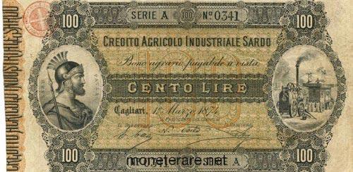 italian 100 lire bankonote