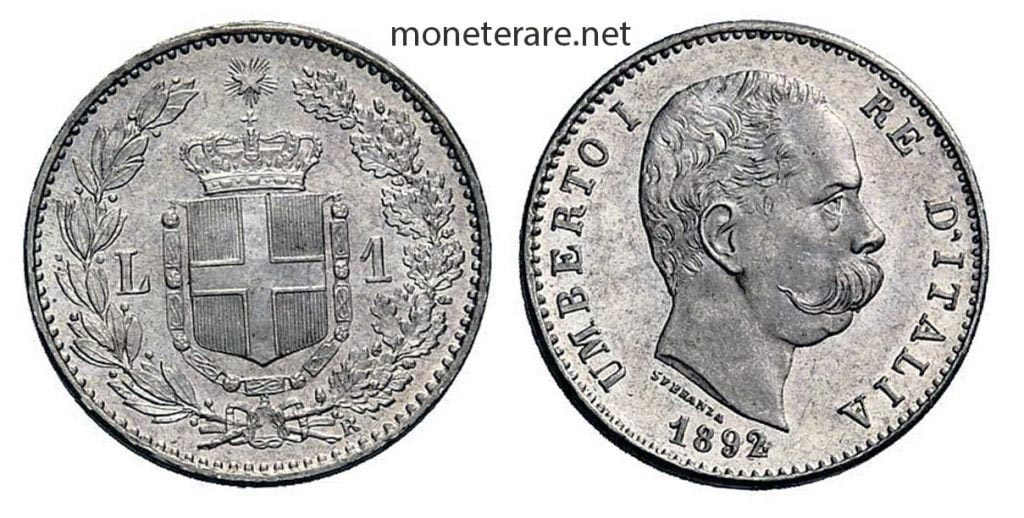1 Lira Umberto I