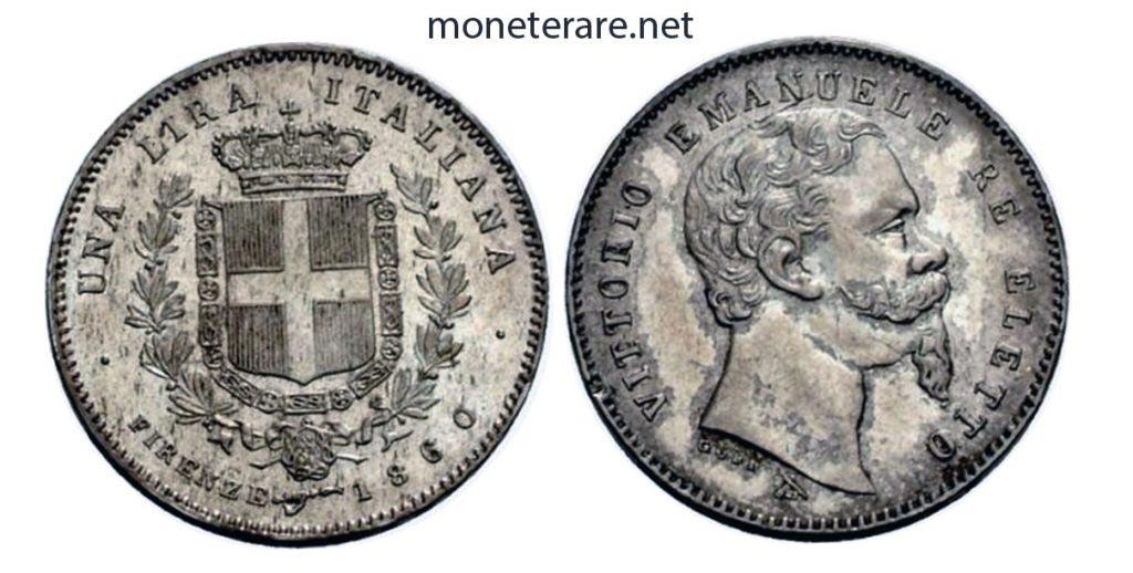 1 Lira Firenze 1860