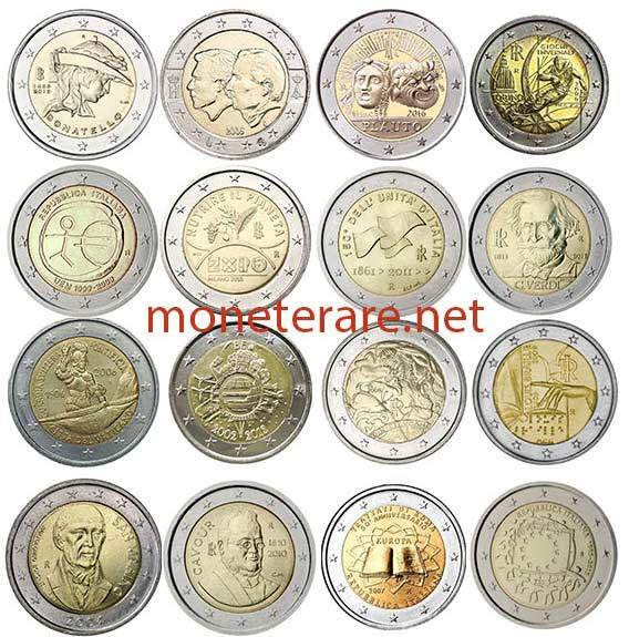 Euro Coins Collections - Euro coins value, denomination