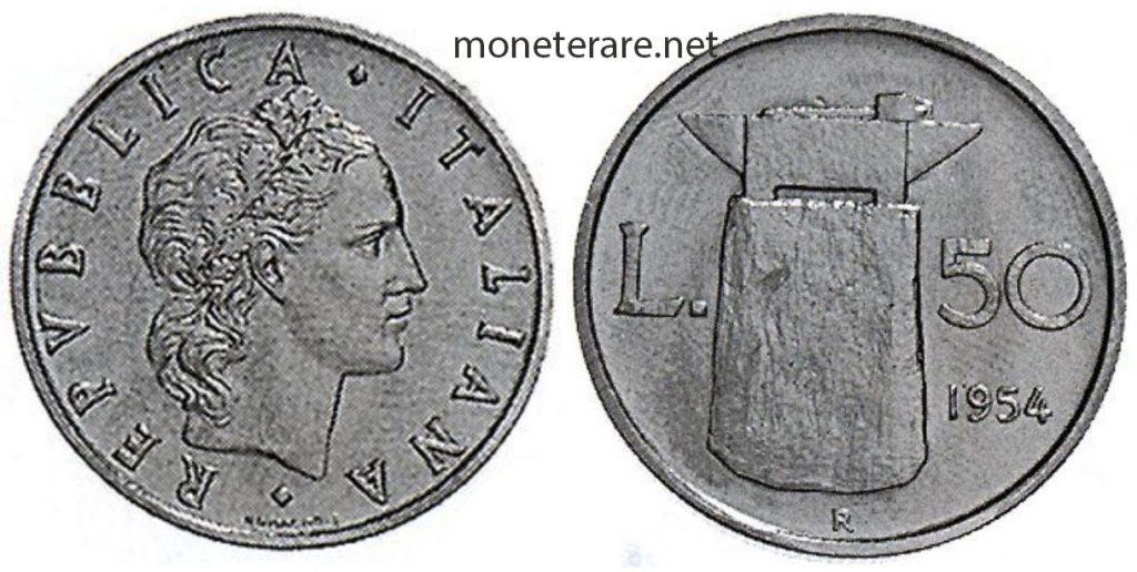 50 lire 1954