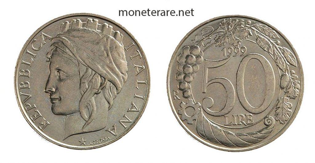 50 lire Italia Turrita