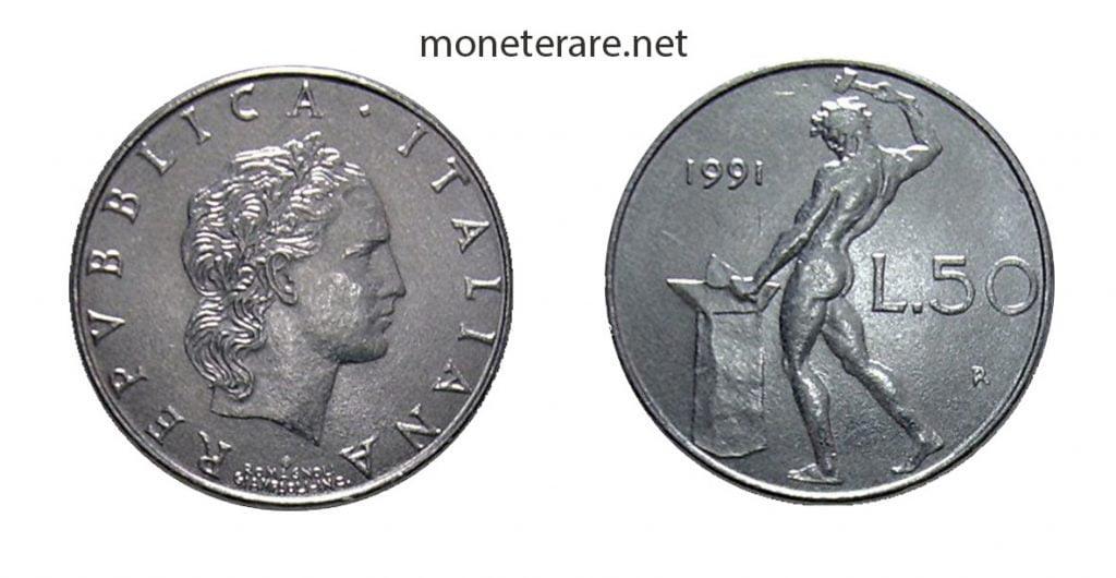 50 lire piccole - micro