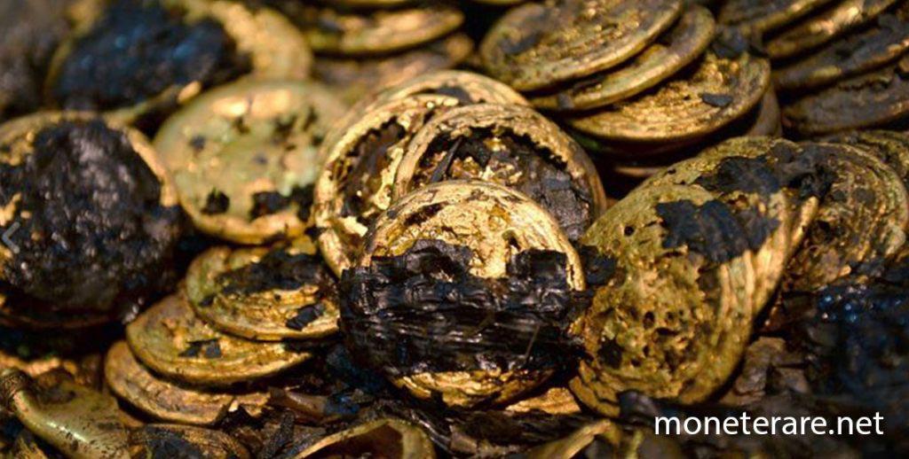 monete d'oro collezione numismatica