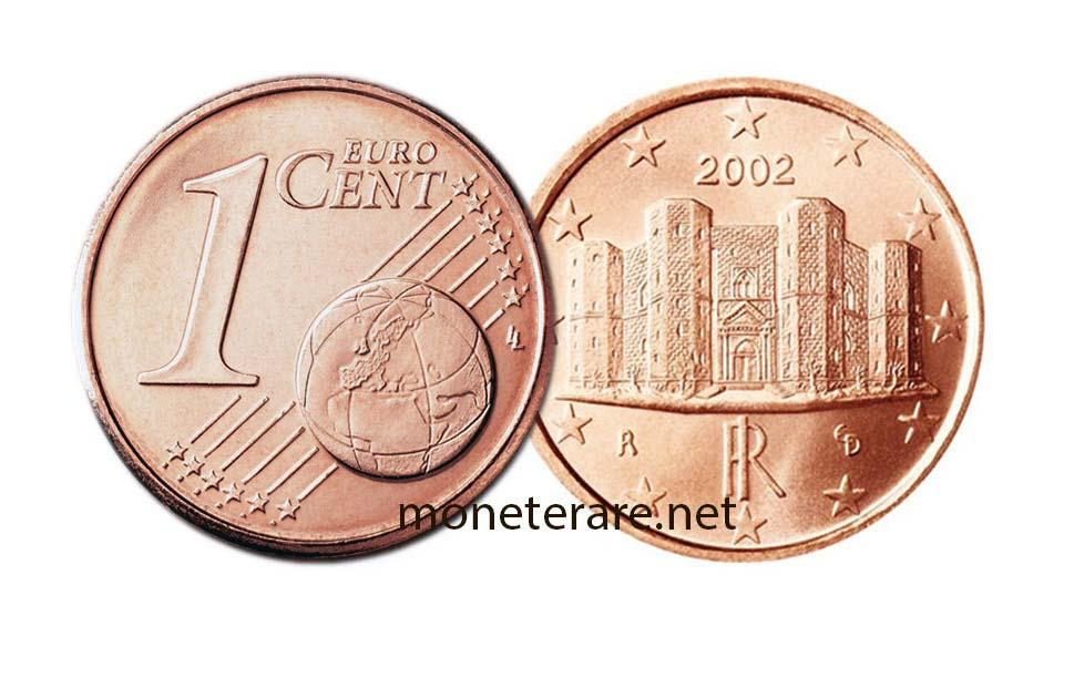 1 Centesimo di Euro con Castel del Monte
