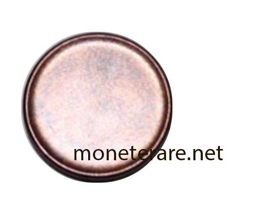 Centesimi rari: 1 centesimo unilaterale