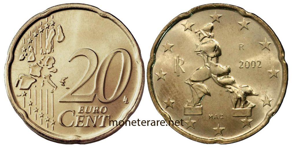 20 Centesimi di euro rari