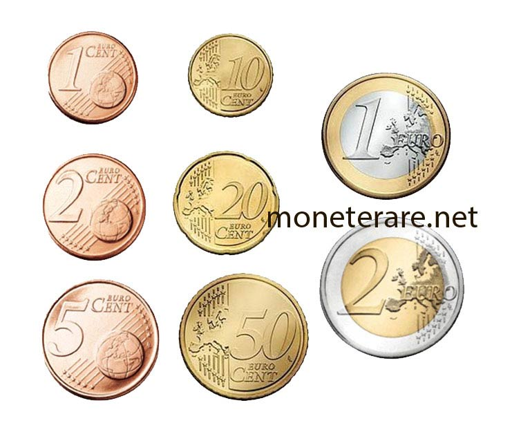 Rare Euro Cent Coins - Secrets and Curiosities of Rare Euro Cents Coins