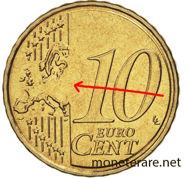 10 Euro Cent Coins