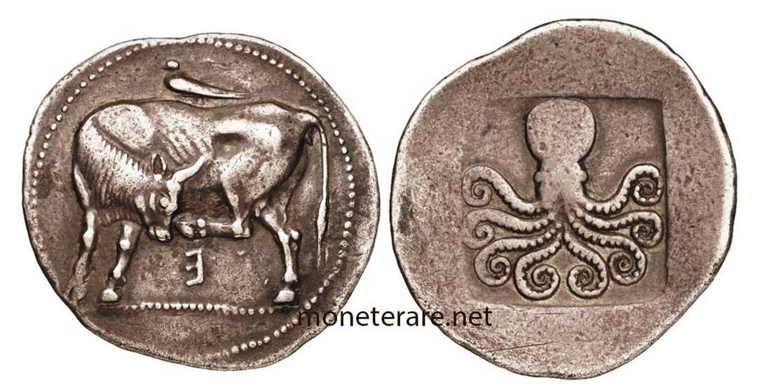 Moneta Greca Periodo Arcaico