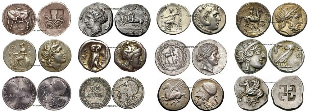 Greek Coins Discover The Most