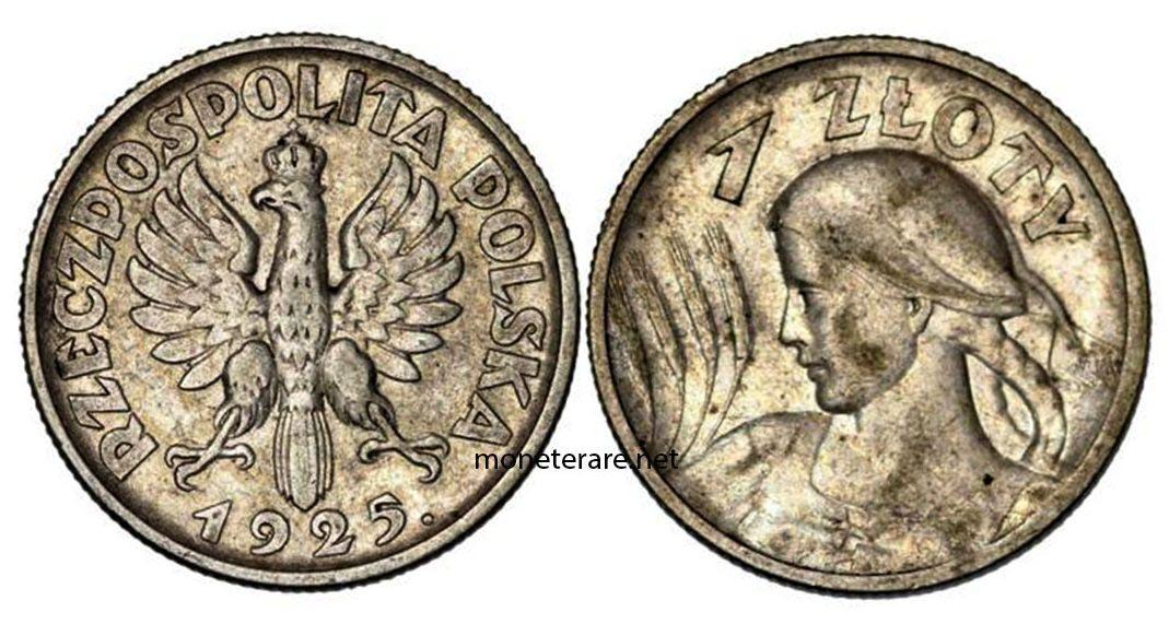 Valuta Polacca da 1 Zotly 1925