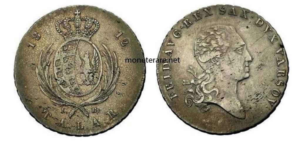 Moneta Polacca Talar Ducato di Varsavia