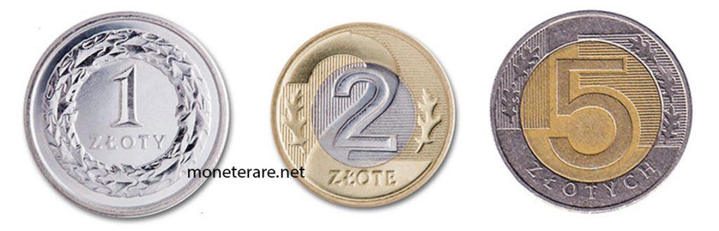 Moneta Polonia Zloty
