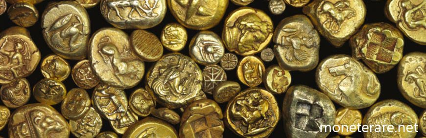 la moneta oro della lidia