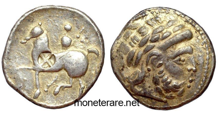 Greek Celtic Coin Danube Region III SEC. b.C. -AG/ Tetradracma - greek coins ancient