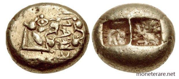 moneta metallo prezioso lidia