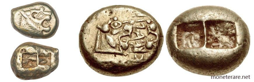 Le prime monete in metallo dalla Lidia