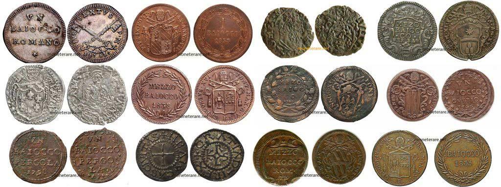 Il Baiocco Moneta Rara