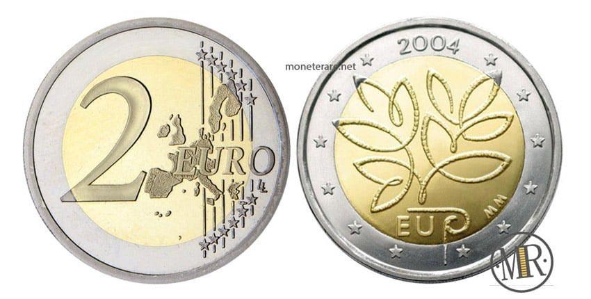 2 Euro Rari Finlandesi molto ricercati dai collezionisti.