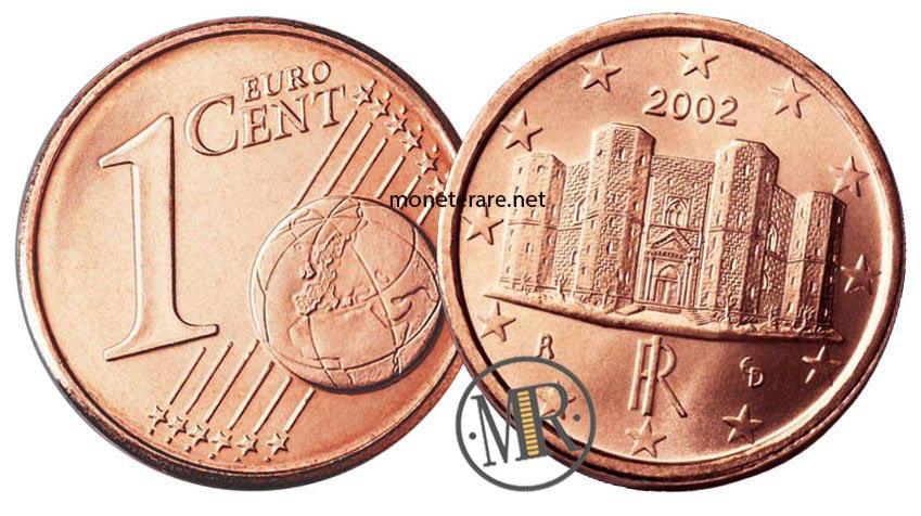 1 centesimo euro italia castel del monte