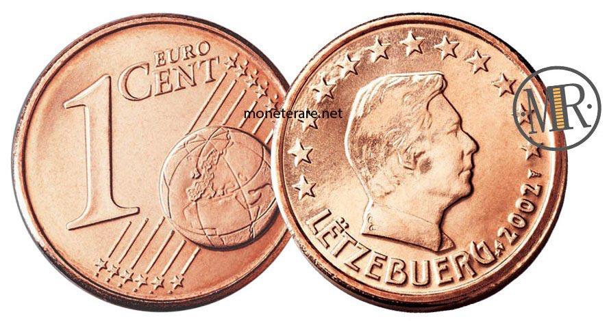 1 Centesimo Euro Lussemburgo